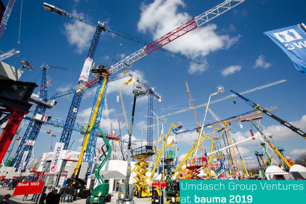 Zukunft des Bauens auf der bauma 2019
