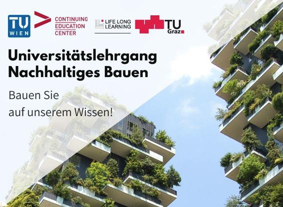 Universitätslehrgang Nachhaltiges Bauen der TU Wien & TU Graz