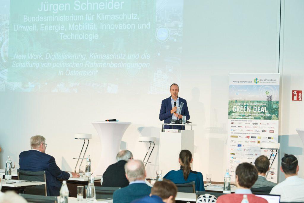 Jürgen Schneider, Klimaschutzministerium