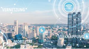 Kongress 2019: Unter dem Motto Gebäude und Umwelt im Wechselspiel werden die Umweltfaktoren Mobilität, Vernetzung und Verknappung erstmals in den Mittelpunkt gestellt. Im Fokus: Chancen und Herausforderungen einer vernetzten Raum- und Gebäudeentwicklung.