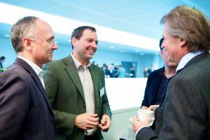 Das Networking spielt immer eine wichtige Rolle: der jährlich stattfindende Kongress der IG LEBENSZYKLUS BAU wird zu einem fixen Treffpunkt für zahlreiche Auftraggebervertreter und die gesamte Branche.