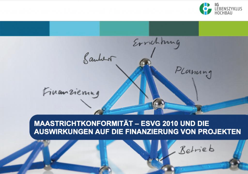 Maastrichtkonformität – ESVG 2010 und die Auswirkungen auf die Finanzierung von Projekten (2014)