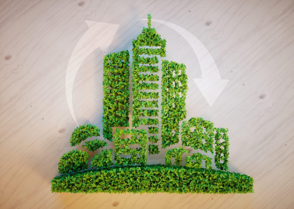 Klimaneutralitaet und Kreislaufwirtschaft im Bauwesen